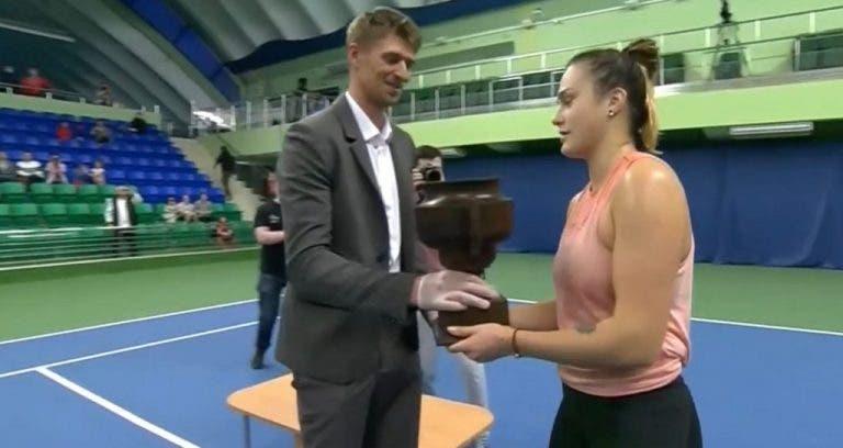 Sabalenka regresa a las canchas y se corona campeona de un torneo