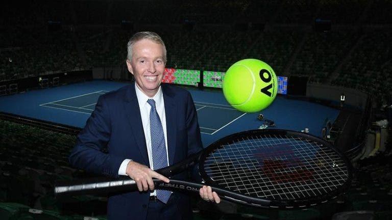 Craig Tiley: «Hablé con muchos tenistas y todos piensan en el 2021»