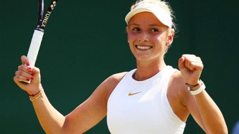 Donna Vekic organiza un torneo de tenis en Croacia