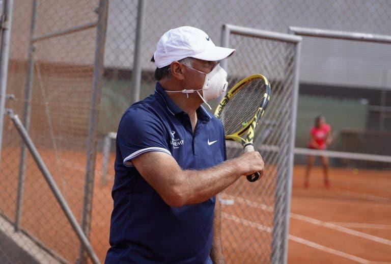 Se reanudan los entrenamientos en la Rafa Nadal Academy