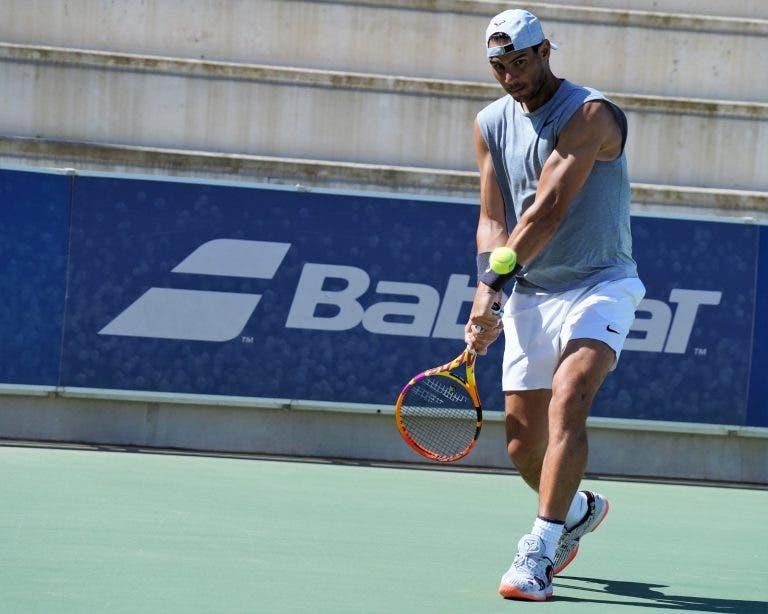 Rafael Nadal vuelve a las canchas de tenis en Manacor