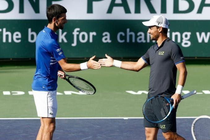 Fognini cree que Djokovic podría ser el tenista con más Grand Slams