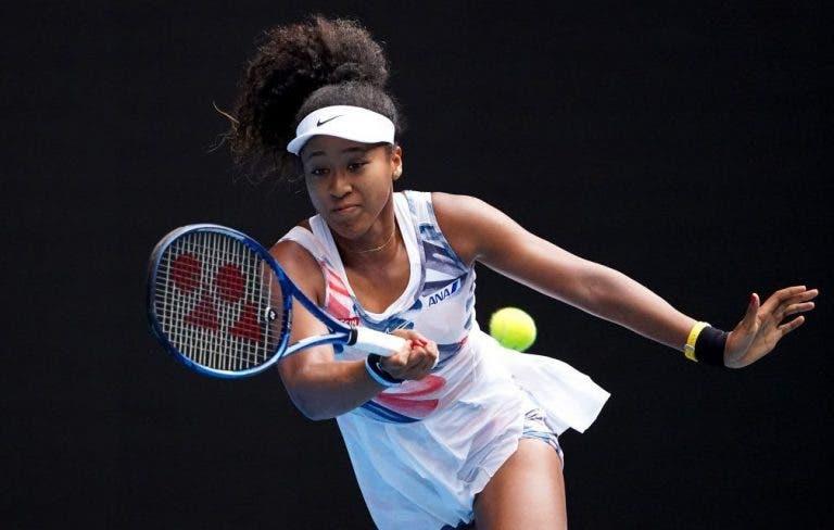 Osaka entrenó por transmisión directa con Venus y no fue lo que esperaba