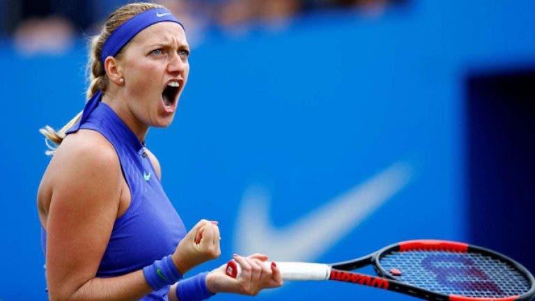 Kvitova vence y está en la final del Czech Presidents Cup