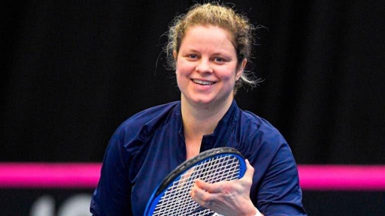 Clijsters: «Si se puede jugar el US Open, quiero estar bien preparada»