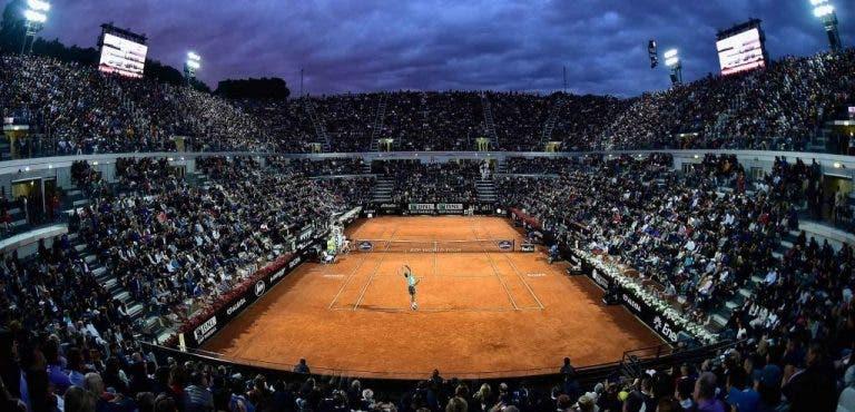 Torneo de Roma se jugará sin público tras presentar un protocolo fallido