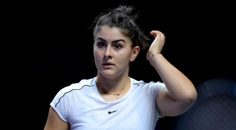 Campeona defensora, Bianca Andreescu, renuncia al US Open 2020