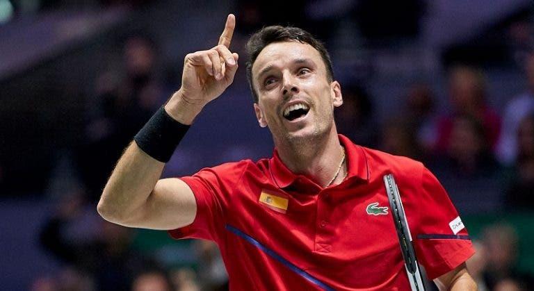 Los españoles Bautista Agut y Carballés Baena sellan su pase a segunda ronda del US Open