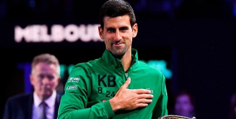 A los 33 años solo tres tenistas tenían más Grand Slams que Djokovic