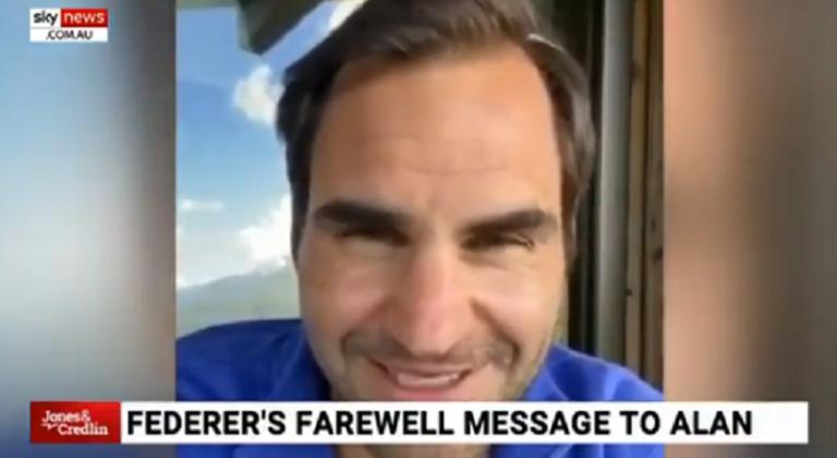 Federer en el ojo del huracán por mensaje a locutor famoso