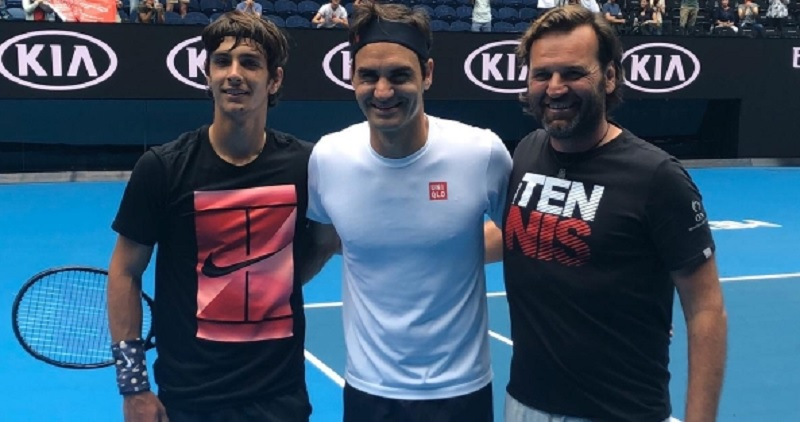 Musetti: «Federer es mi ídolo, pero Djokovic me impresionó»