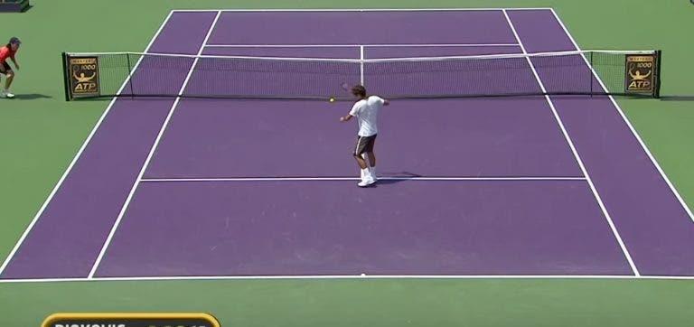 [VIDEO] Desde raquetas partidas hasta puntos épicos: 10 momentos que sorprendieron a los fanáticos