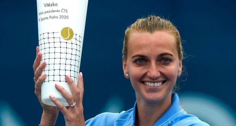 Kvitova se impone y vuelve a levantar trofeo en Praga