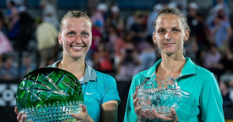 Pliskova y Kvitova competirán de nuevo a finales de este mes