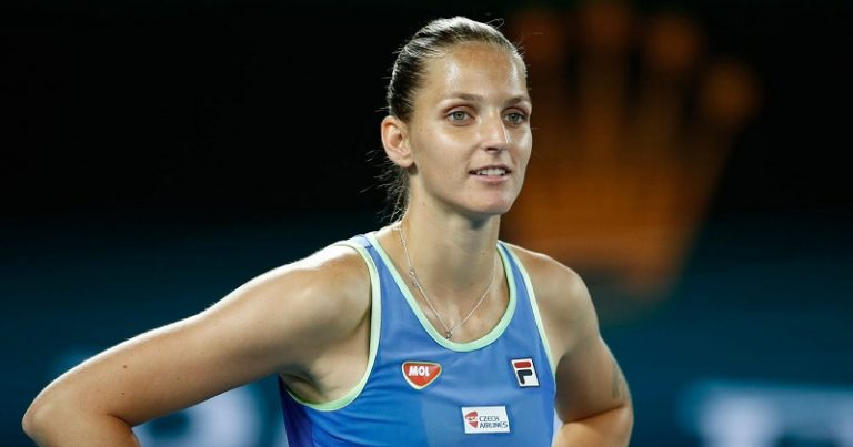 Pliskova llama débiles a los tenistas que no quieren la igualdad de premios