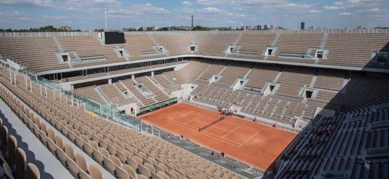 Roland Garros podría disputarse sin público presente
