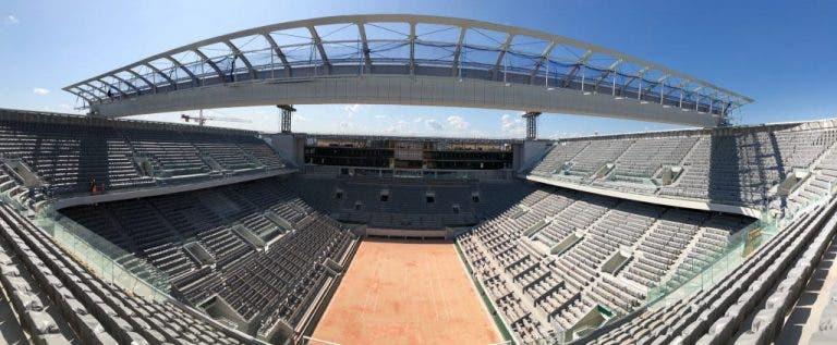 Roland Garros podría recibir 5.000 espectadores por día