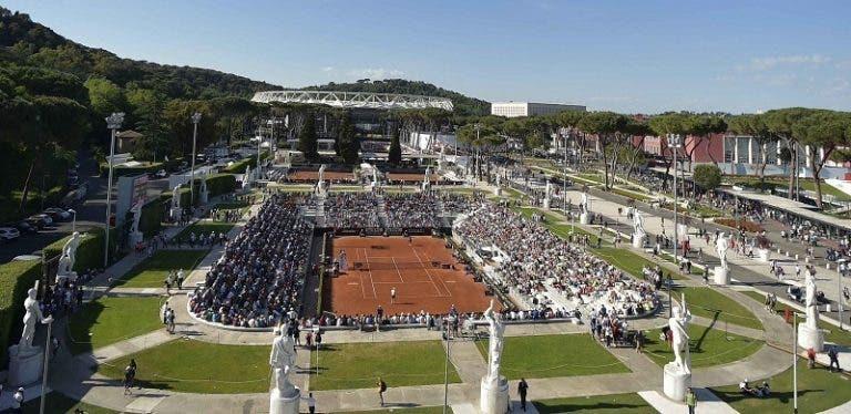 Solo una gran catástrofe evitará que el torneo de Roma se realice este año