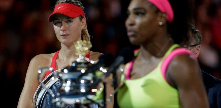 Los fans de Sharapova acusan a Serena Williams de ser una imitadora