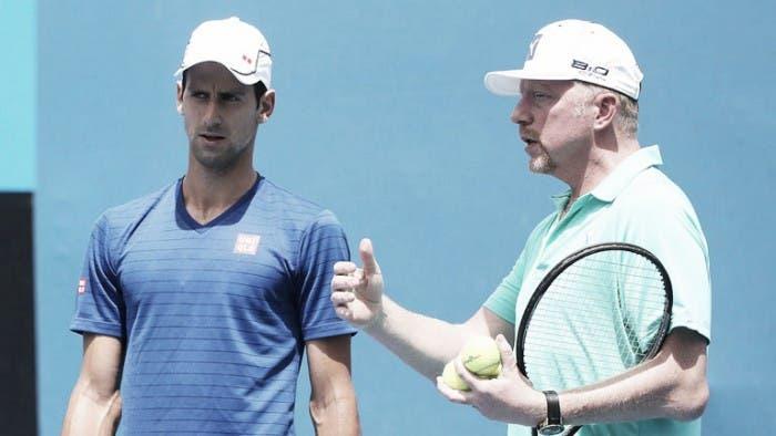 Becker defiende a Djokovic: «La gente tiene una visión equivocada de él»