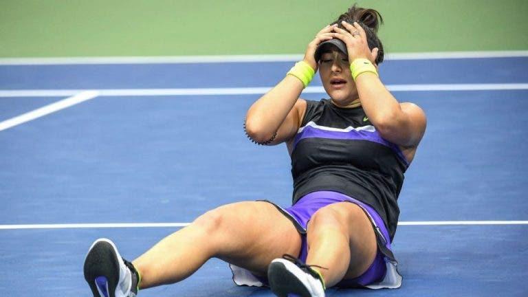 Bianca Andreescu no jugará en Charleston debido a sus lesiones