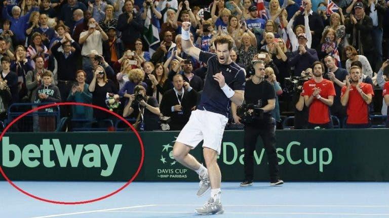 Casas de apuestas 'contribuyen' a la reanudación del tenis en plena crisis
