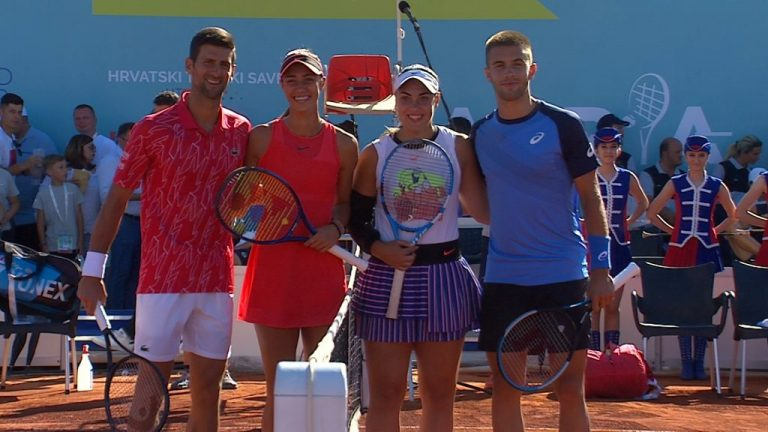 Coric y Dimitrov están en el mismo grupo que Djokovic en el Adria Tour