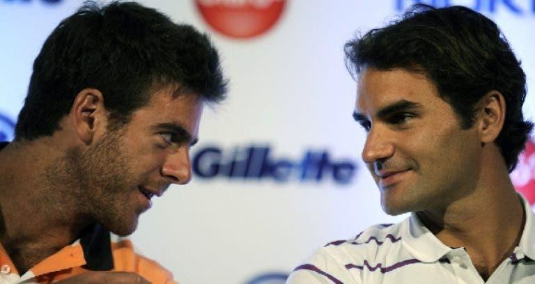 Del Potro dice que debe presentarle sus padres a Roger Federer