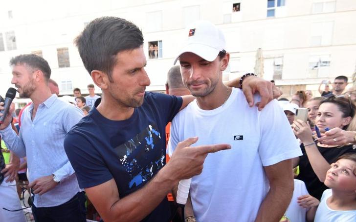 Padre de Djokovic culpa a Dimitrov de los contagios en el Adria Tour