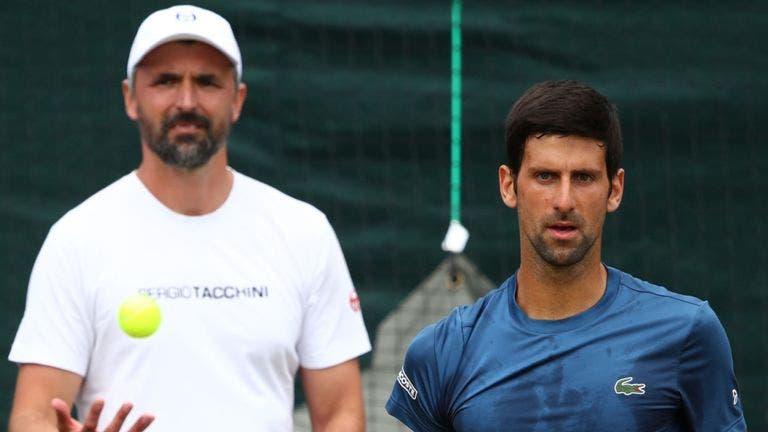 El entrenador de Djokovic revela que dio positivo por covid-19