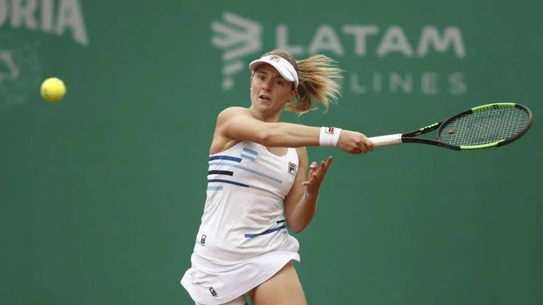 Nadia Podoroska espera poder arrancar pronto con sus entrenamientos