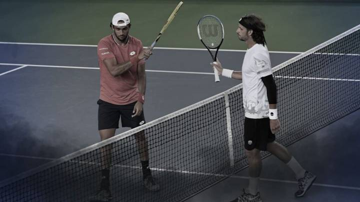 Feliciano López vence a Berrettini en el Ultimate Tenis Showdown