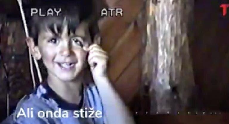 [VIDEO] Un Djokovic de cuatro años ya amaba el tenis