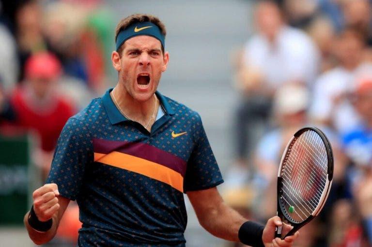 Del Potro: «Aquel partido contra Federer me pegó, me dolió mucho»