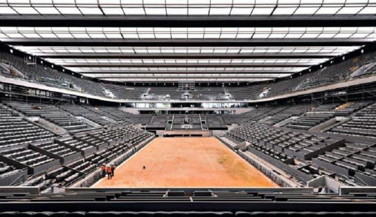 La FFT revela la fecha en que terminarán las obras en Roland Garros