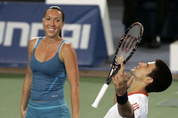 La serbia Jankovic se reactiva en dobles mixtos con Djokovic