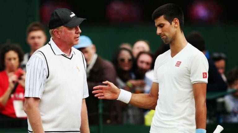 Becker también defiende a Djokovic de las críticas