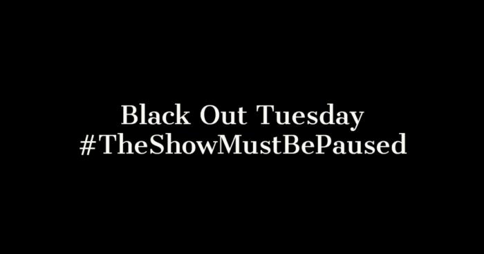 #Blackouttuesday. Estrellas del tenis se unen al movimiento mundial