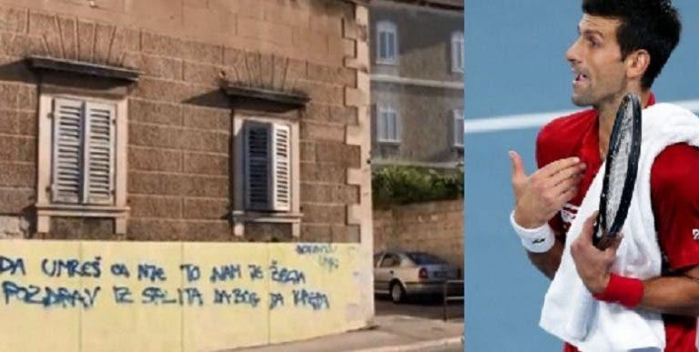 Algunos croatas dejan mensajes de odio a Djokovic