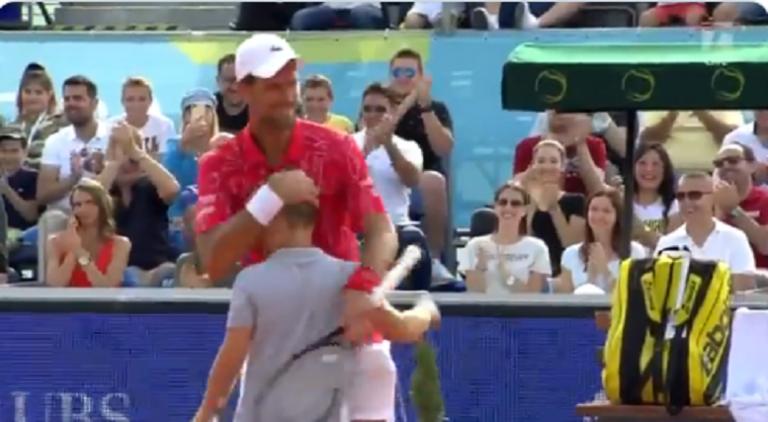 El recogepelotas que ganó un punto a Djokovic no es cualquier niño