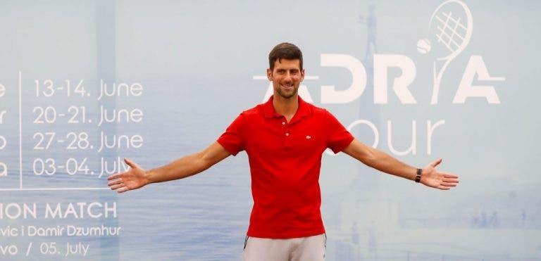 Djokovic derrota a Troicki y avanza al grupo A del Adria Tour