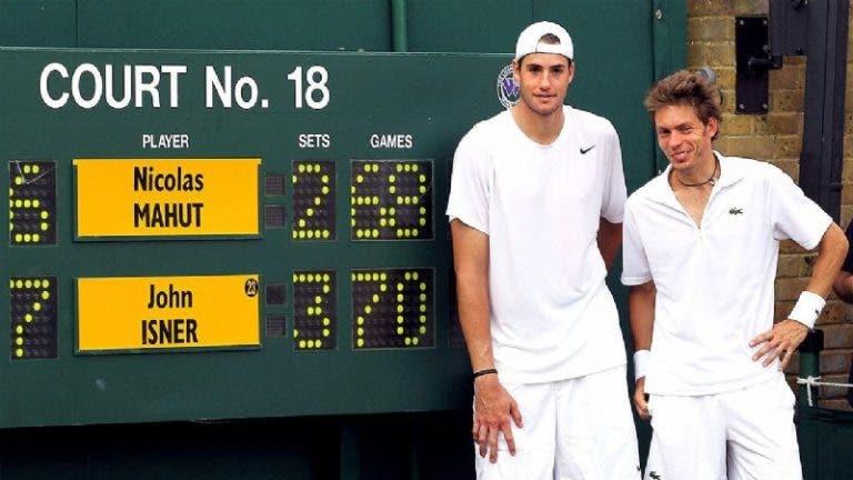 [VIDEO] Hace 10 años: Isner derrotó a Mahut en el partido más largo de la historia