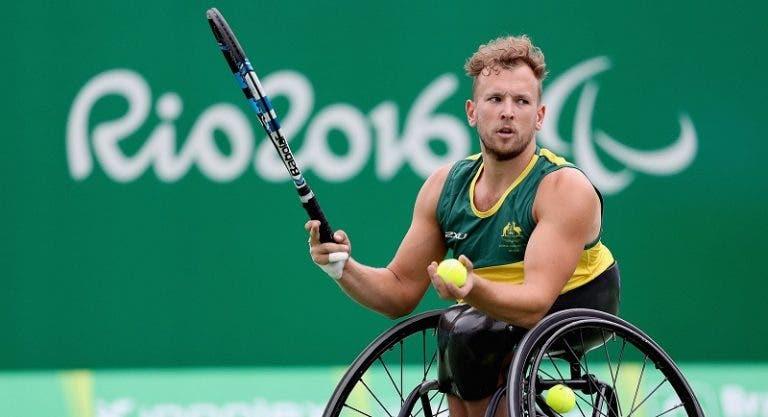 Bicampeón del US Open en silla de ruedas indignado con el Grand Slam