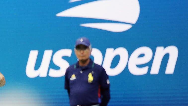 US Open: jueces de línea en dos estadios y recogepelotas todos adultos