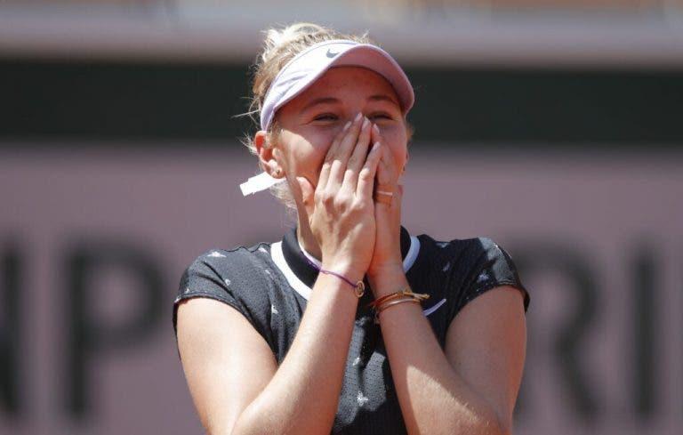 Anisimova y cómo la motiva que la comparen con Sharapova