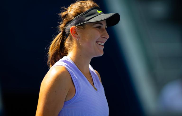 Belinda Bencic no duda que Roger Federer se recuperará completamente