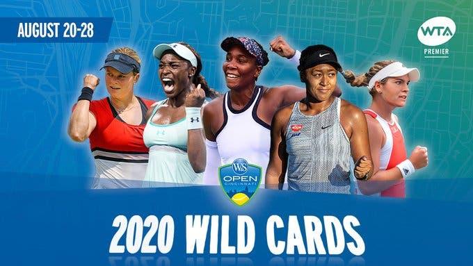 Cincinnati: cuatro campeonas de Grand Slam reciben wild card