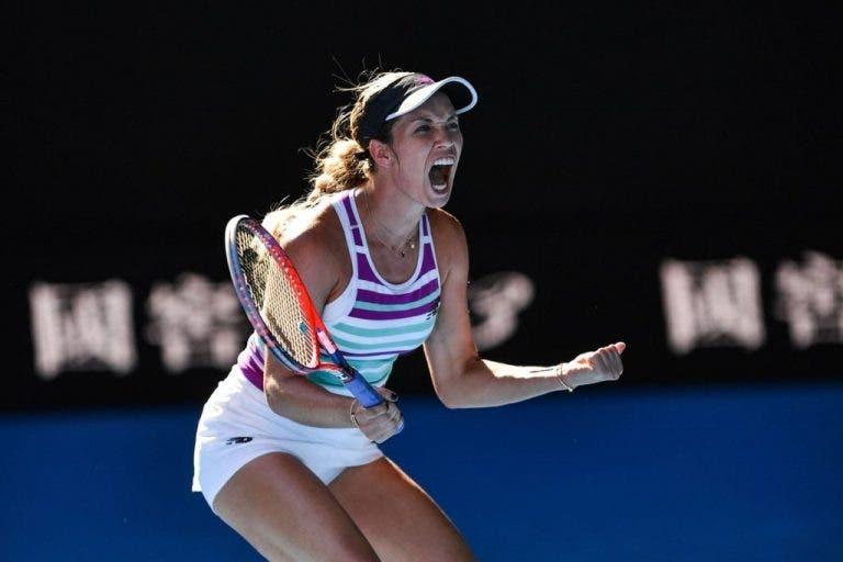 Danielle Collins se disculpa por lo sucedido en el World Team Tennis