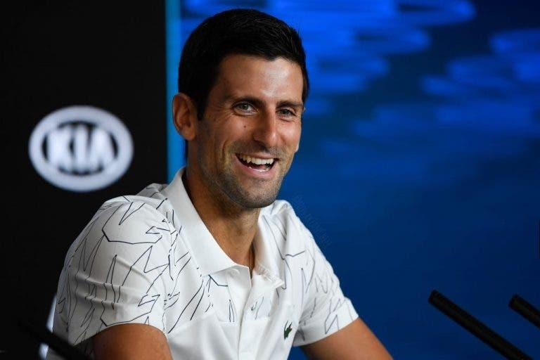 Top 600 dice que Novak Djokovic es un tenista que da un gran ejemplo