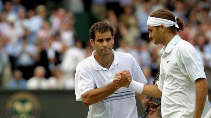 Federer recuerda el día en que le ganó a su ídolo en Wimbledon